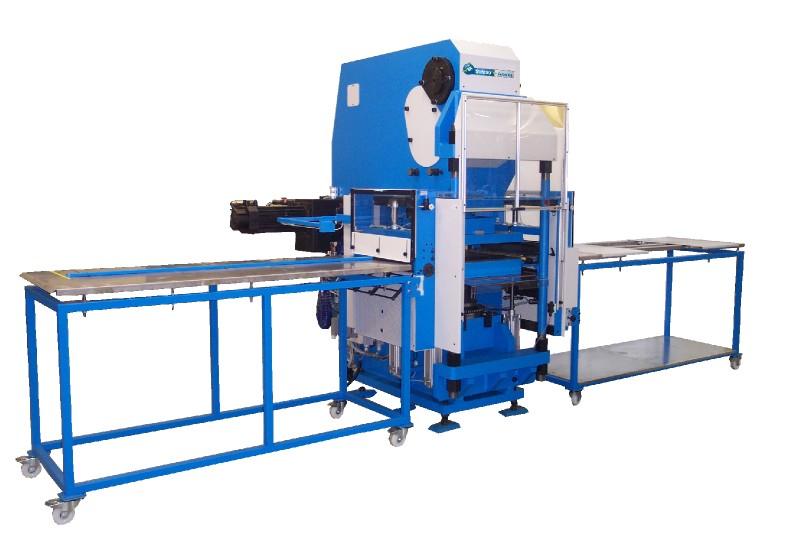 Mechaniczna prasa to cięcia w technologii kiss-cutting – Model 110/120/135/150